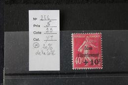FRANCE NEUF Y&T N° 266 / Au Profit De La Caisse D'armortissement - Frankreich
