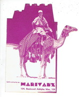 LIEGE 1934 - Programme Cinéma MARIVAUX En 2 Volets - Jean MURAT Et SPINELLY Dans LA CHATELAINE DU LIBAN - Programmes