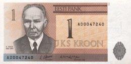 Estonia 1 Kroon, P-69 (1992) - UNC - Estonie