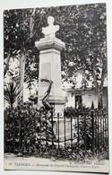 CPA Algérie Tlemcen Monument Du Général Cataignac Place D'Alger - Tlemcen