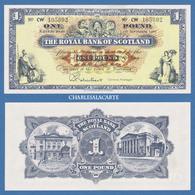1967 G.B. ROYAL BANK OF SCOTLAND  £1  KRAUSE 325b SUPERB ALMOST UNC. CONDITION - [ 3] Scotland
