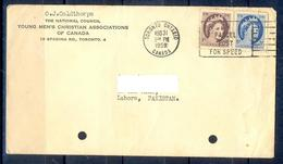 X124- Postal Used Cover. Posted From Canada To Pakistan. - Postal History