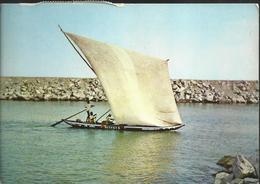 Fishingboat - Tema,  - Timbre De 1967 - Ghana - Gold Coast