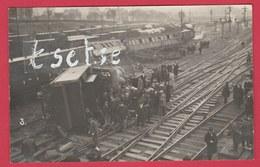 Région Namuroise ... Catastrophe Ferroviaire ... à Situer - Carte Photo 1 ( Voir Verso ) - België