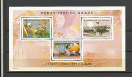 Guinée Cosmos YT**  2617/19 Satellites  Cnquête De Mars - Ruimtevaart