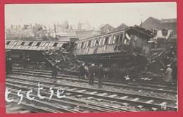 Région Namuroise ... Catastrophe Ferroviaire ... à Situer - Carte Photo 2 ( Voir Verso ) - België