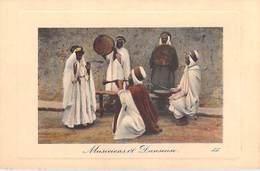 Afrique Algérie > Scènes & Types   MUSICIENS Et DANSEUSE (musique) (-- Edition :LL 6436 )* PRIX FIXE - Scènes & Types