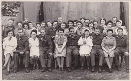 Soldat Armée Belge En Irlande Brigade 1945 à Omagh  Photo Carte - Documents