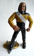 FIGURINE PLAYMATES TOYS 1992 STAR TRECK NEXT GENERATION - KLINGON GUERRIER WORF (1) - Star Trek