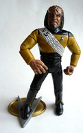 FIGURINE PLAYMATES TOYS 1992 STAR TREK NEXT GENERATION - KLINGON GUERRIER WORF (1) - Star Trek