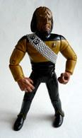 FIGURINE PLAYMATES TOYS 1992 STAR TRECK NEXT GENERATION - KLINGON GUERRIER WORF (2) - Star Trek