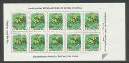 FINLANDE 1999 - CARNET  YT C1448 - Facit MA1477 - Neuf ** MNH - Fleurs, Série Courante SV - Finnland