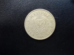 CHYPRE : 5 CENTS  1990   KM 55.2    TTB - Chypre