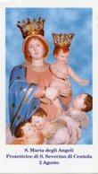 San Severino Di Centola (Salerno) - Santino SANTA MARIA DEGLI ANGELI - PERFETTO P91 - Religione & Esoterismo