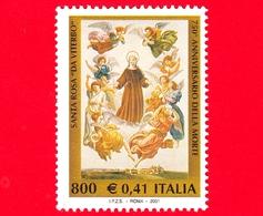 Nuovo - MNH - ITALIA - 2001 - Santa Rosa Da Viterbo - S. Rosa In Un Dipinto Di Francesco Podesti - 800 L. - 0,41 - 6. 1946-.. República