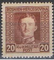 BOSNIE 27 // YVERT 126 // 1917 ... NEUF - Bosnia Herzegovina