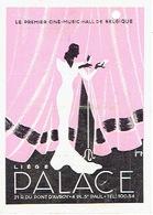 """LIEGE 1946 - Programme Cinéma """"PALACE"""" - Illustré Par FORG - La Cage Aux Rossignols Avec Georges Biscot, René Génin - Programmes"""