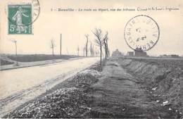 76 - NEUVILLE : La Route Au Départ, Vue Des Tribunes ( Circuit De La Saine Inférieure ) CPA - Saine Maritieme - France