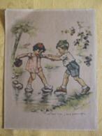 """GERMAINE BOURET AFFICHETTE """" TIENS MOI BIEN ,J SAIS PAS NAGER"""" DATEE 1938-39 - Posters"""