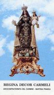 Martina Franca (Taranto) - Santino REGINA DECOR CARMELI Arciconfraternita Del Carmine - PERFETTO P91 - Religione & Esoterismo