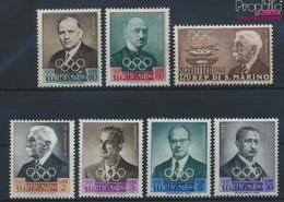San Marino 611-617 (kompl.Ausg.) Postfrisch 1959 IOC-Präsidium (9283606 - San Marino