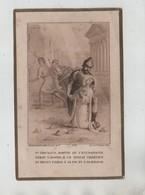 Tarcisius Martyr De L'Eucharistie Bouasse Lebel Souvenir Première Communion Boutelier Eglise St Sulpice 1910 - Images Religieuses