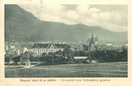 Romania Brasov Brasso Kronstadt 1927 Postcard - Romania