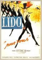 Gruau Publicité Lido Paris 8 Champs Elysées 1961 Pin-up - Autres Illustrateurs