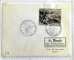 T.A.A.F.  ILES CROZET  -1er Jour -24 JANVIER 1972 - Briefe U. Dokumente