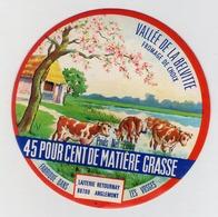étiquette De Fromage - Vallée De La Belvitte - Laiterie Retournay 88700 ANGLEMONT - Fromage
