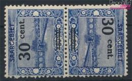 Saarland 76, Kehrdruck III Mit Falz 1921 Landschaftsbilder (II) (9284085 - 1920-35 Société Des Nations