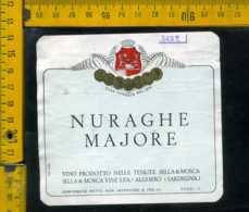 Etichetta Vino Liquore Nuraghe Majore Sella&Mosca Alghero - Altri