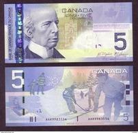 Canada, UNCL, 2009, 5$, Jenkins/Carvey, Hockey, Série AAR - Canada