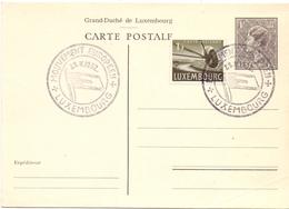 LUXEMBURG MOUVEMENT EUROPEAN 1952  CARD     (FEB190011) - Interi Postali