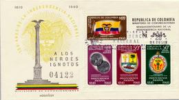 BOGOTA / Colombia - 20.7.60 , 150 Jahre Unabhängigkeit - Colombia