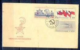 X136- FDC First Day Cover Of Czechoslovakia. Flag. - Czechoslovakia