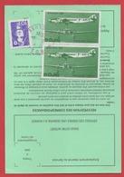 PA 60 X 2 + 10 F BRIAT Sur ORDRE De REEXPEDITION - CACHET ROUGE - - Postmark Collection (Covers)
