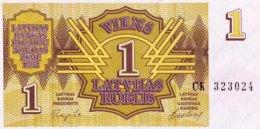 Latvia 1 Rublis, P-35 (1992) - UNC - Latvia