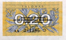 Lithuania 0.20 Talonas, P-30 (1991) - UNC - Litauen