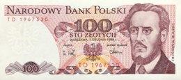 Poland 100 Zlotych, P-143e (1.12.1988) - UNC - Polen