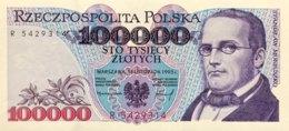 Poland 100.000 Zlotych, P-160 (16.11.1993) - UNC - Polen