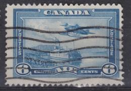 CANADA:   Le 6 C. Bleu, Oblitéré - 1952-.... Règne D'Elizabeth II