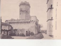 CPA - 10. Bourdeilles Le Château Le Donjon - France