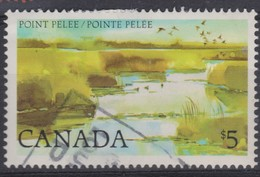 CANADA:   Le 5D. Oblitéré - 1952-.... Règne D'Elizabeth II