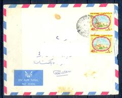 X157- Postal Used Cover. Posted From Kuwait To Pakistan.Mosque. - Kuwait