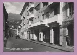 St. Vincent - Via Emilio Chanoux E Hotel Corona - Italia