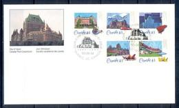 X160- FDc Of Canada. Historic CPH & R Hotels. - Canada