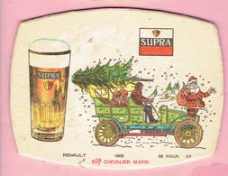 Bierviltje - SUPRA - Oude Auto - Renault 1905 - 55 Km/H  - Chevalier Marin - Sous-bocks