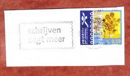 Briefstueck, EF Van Gogh, MS Nieuwegein 2003 (69563) - Storia Postale
