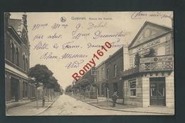 Quiévrain.  Avenue Des Acacias. Café Des Acacias, Local Des Combattants -  2 Scans. - Quiévrain